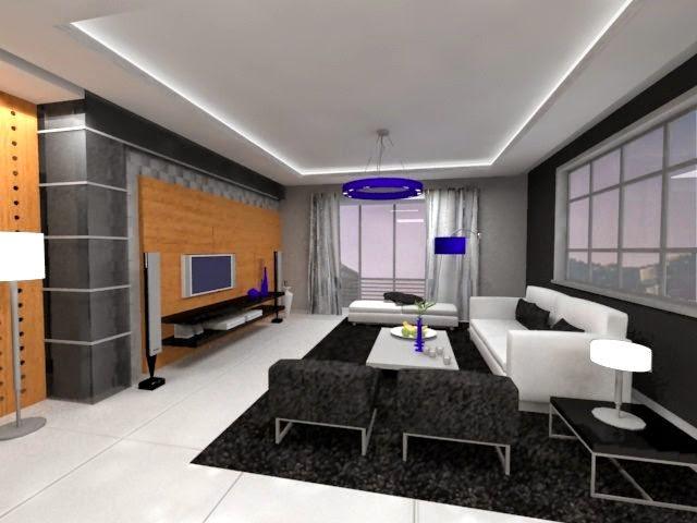 Departamento moderno de l neas rectas arquitectura Departamentos minimalistas
