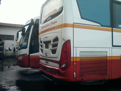 Mercedes benz OH 1836 ScorpionX PO Harapan Jaya