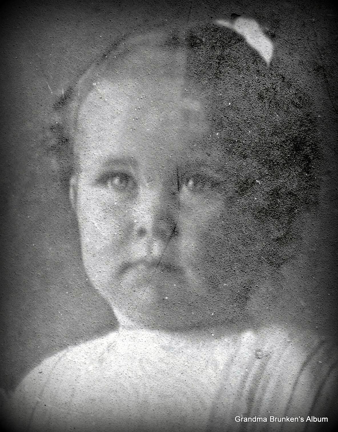 Hilda Ida Brunken - Circa 1907