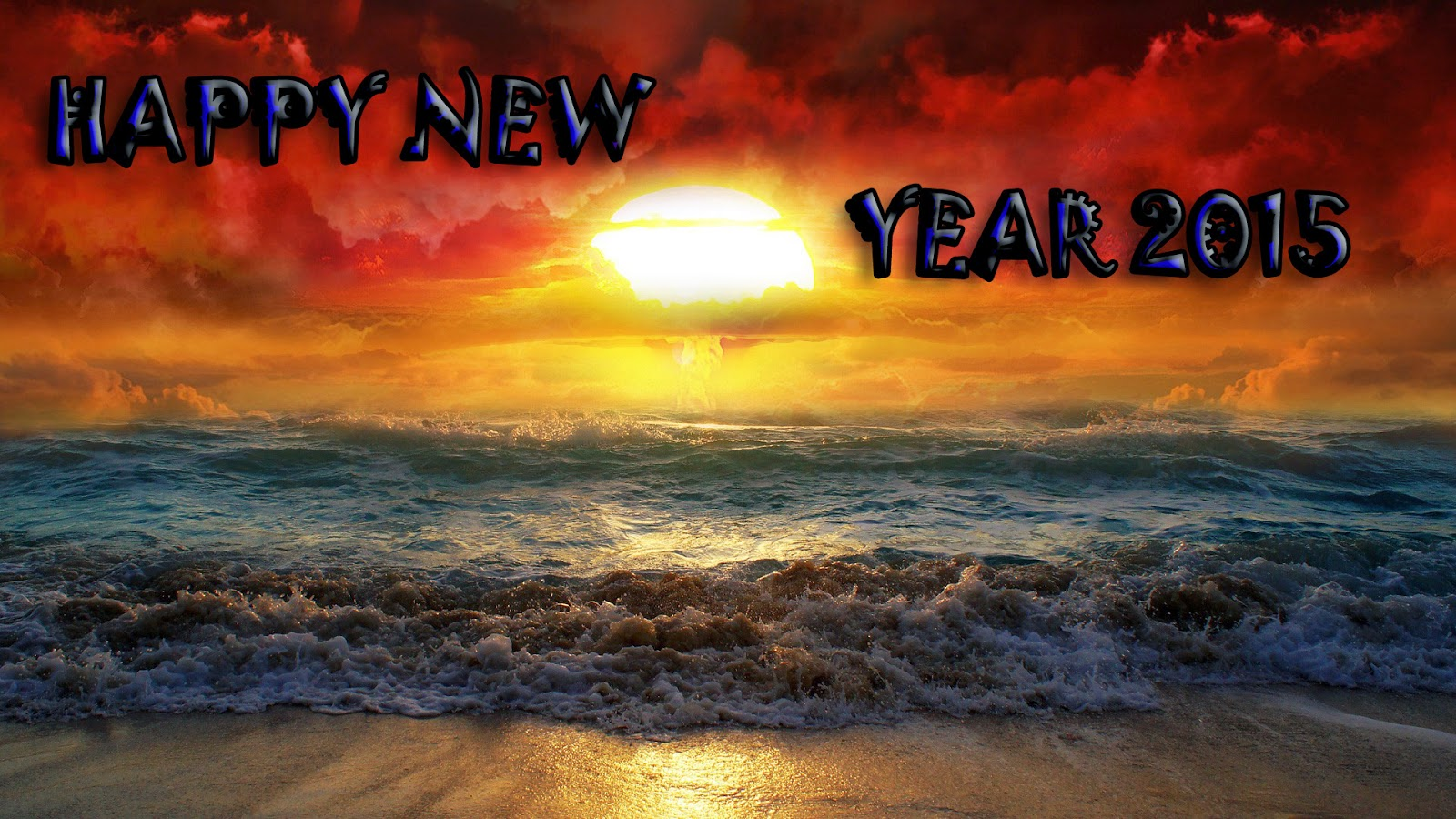 Happy New Year 2015 Cards - Beautiful Free Cards