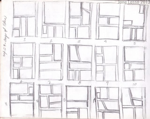 Práctica de viñetas a lápiz