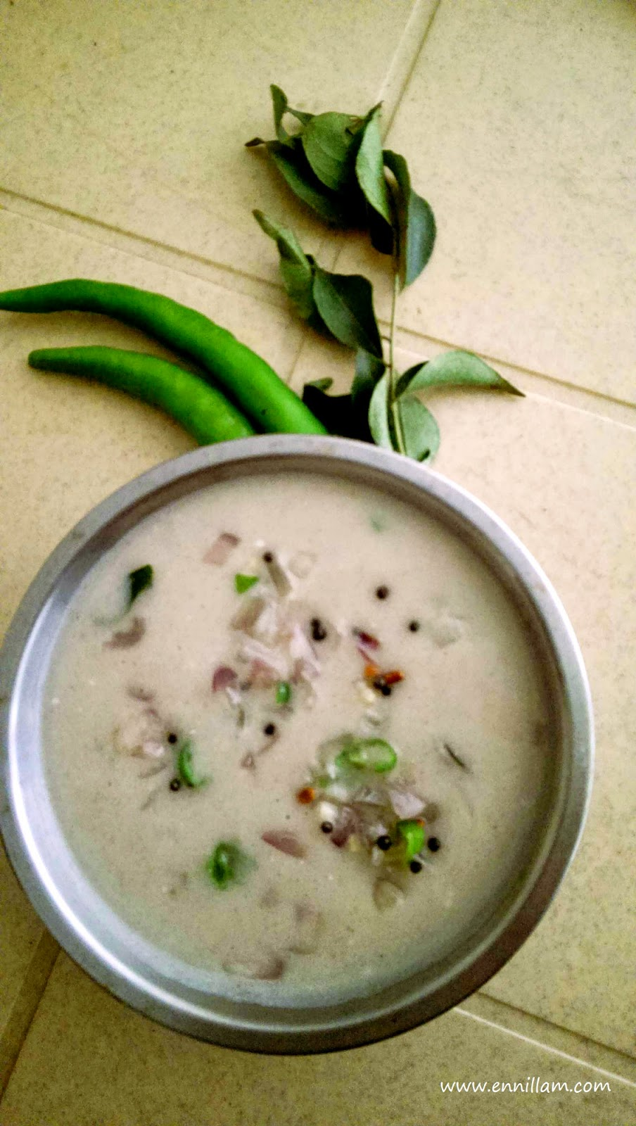 Pearl millet porridge