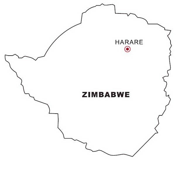How To Draw Zimbabwe