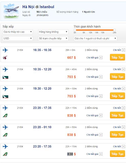 Vé máy bay đi Istanbul giá rẻ 2015_2