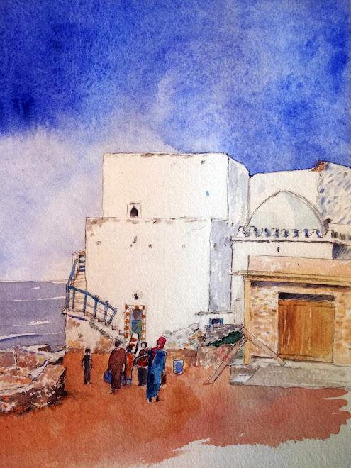 Carnet de voyage, Essaouira, Maroc