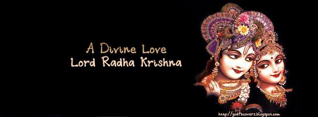 Lord Radha Krishna FB Cover