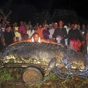 Bunawan Agusan del Sur giant crocodile for ecotourism
