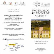 UNO SGUARDO SULLE COLLINE UNESCO – MOSTRA A MOMBERCELLI (AT)