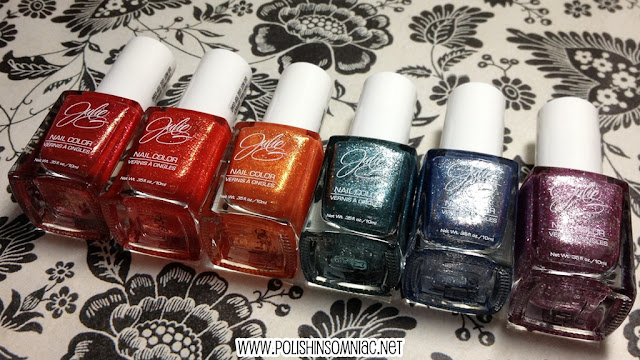 polish insomniac giveaway #1 JulieG Gumdrops collection