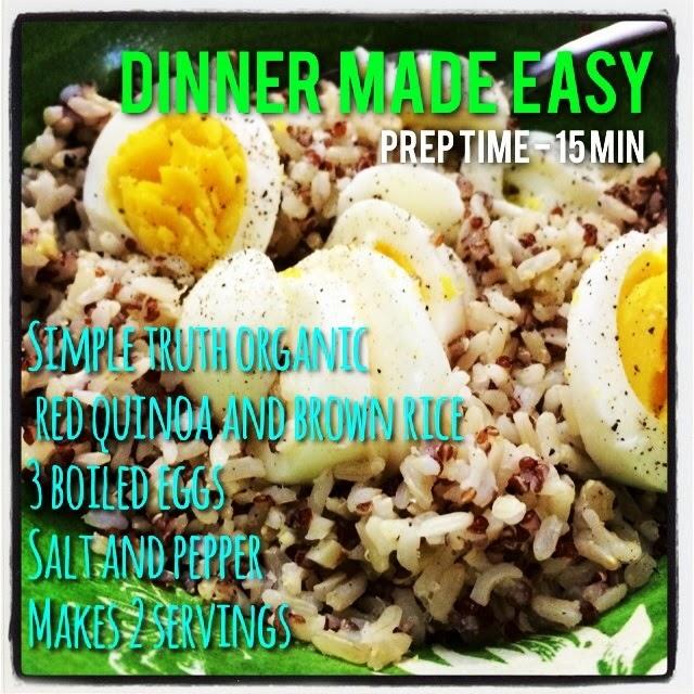 healthy meals quinoa eggs