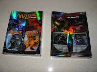 Jace v Chandra duel deck and Garruk v Liliana duel deck