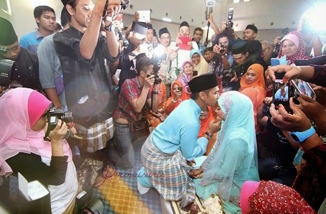 Gambar Majlis Pernikahan Fizz Fairuz Dan Almy Nadia 26 April 2014