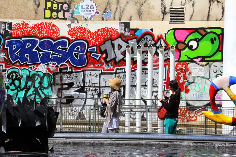 Paris : Quartier Beaubourg