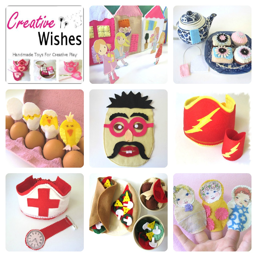 Imaginative Toys For Girls : Melinda screative wishes about
