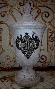 "Stunning 20"" Urn by Broke Jewels"