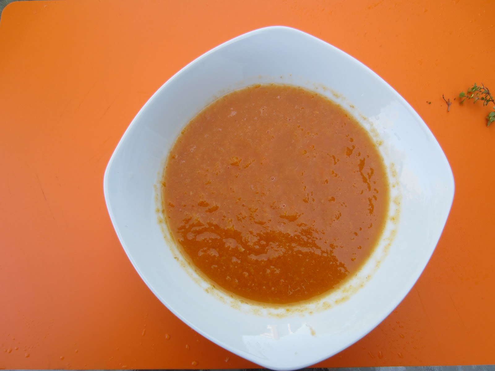 Gluten Free A-Z : Simple Carrot Ginger Soup for Two