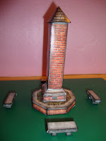 Assembled Town Square Monument Model