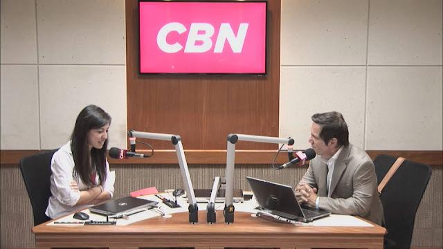 Bel Pesce na rádio CBN
