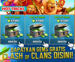 Trik Gems COC Clash Of Clans Gratis