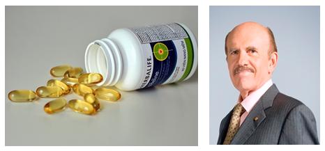 Herbalifeline Omega-3 EPA - DHA sức khỏe tim mạch Tiến sĩ Loius Ignarro (Giải Nobel Y học)