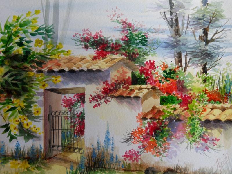 Im genes arte pinturas pintura paisajes acuarela for Comprar cuadros bonitos