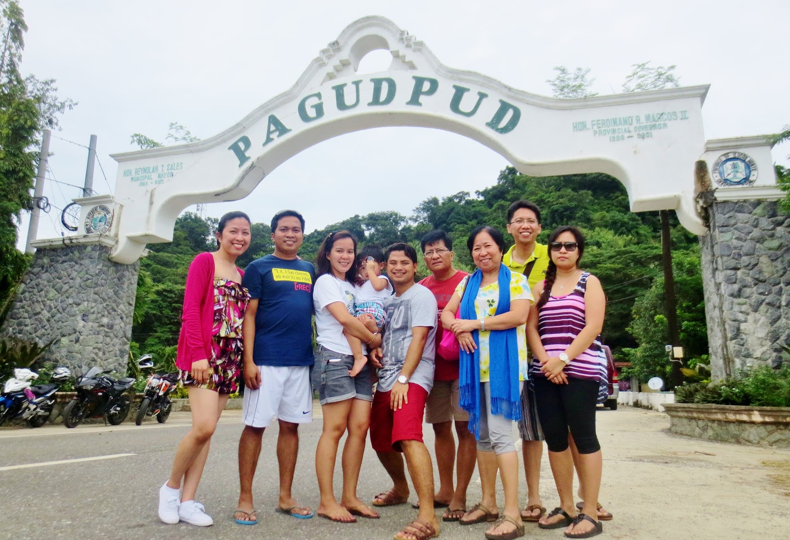 Pagudpud Welcome Arch