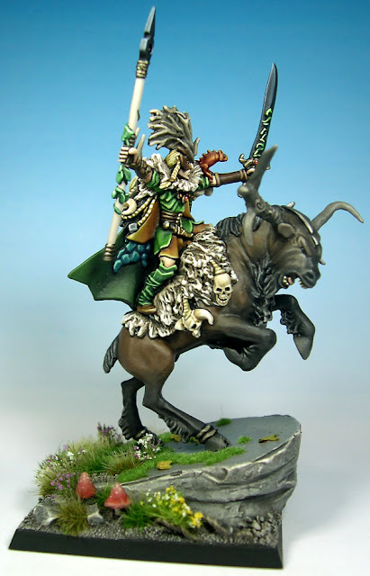 wood elf noble on great stag