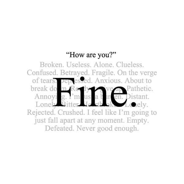 Hur mår du?