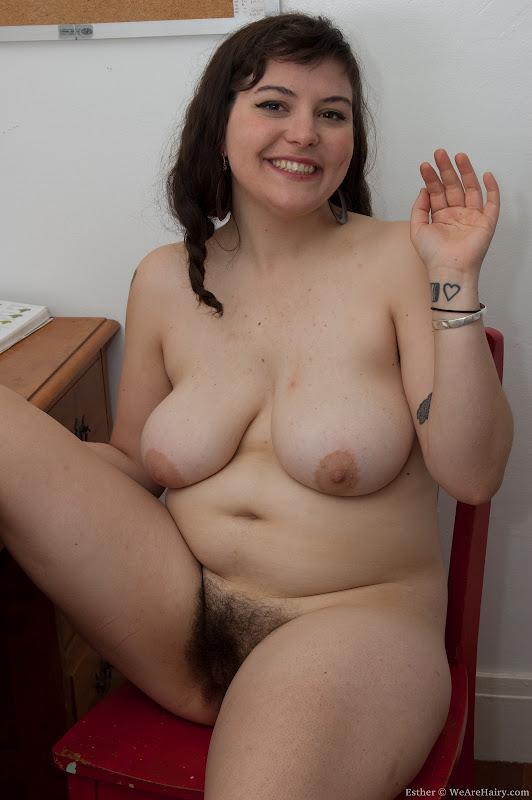 фото полные голые волосатые