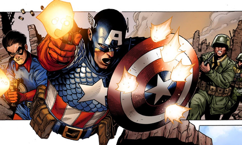Dibujo del Capitán América