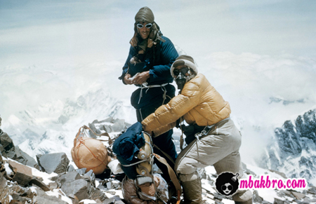 pendaki himalaya pertama