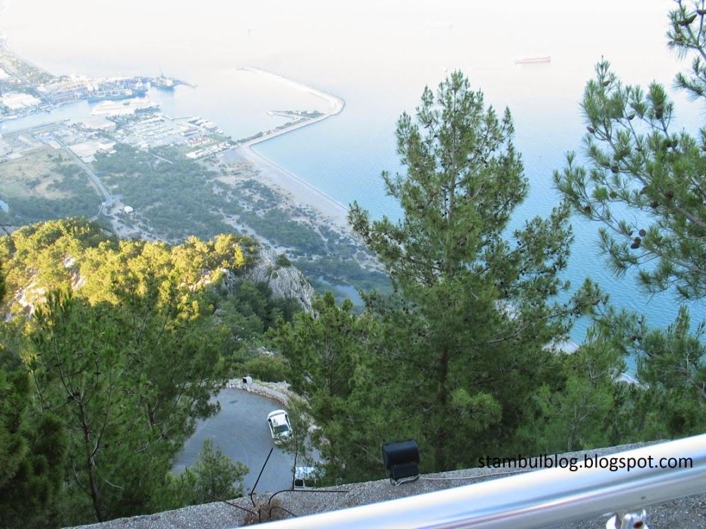 Вид с горы в Коньяалты Анталия