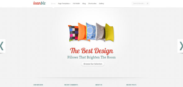 LeanBiz Premium Wordpress Theme Free Download by ElegantThemes.
