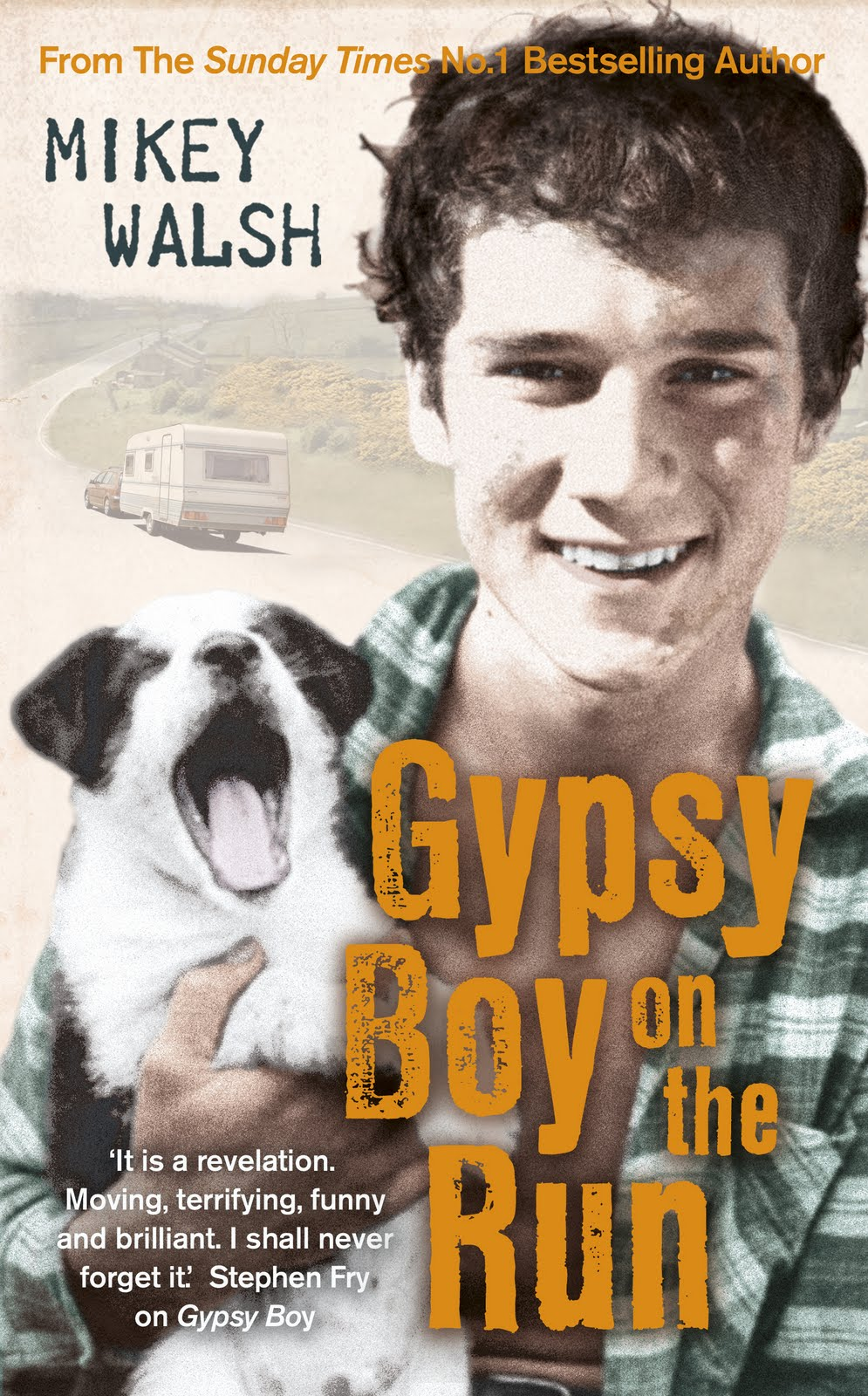Gypsy%2BBoy%2Bon%2Bthe%2BRun%2B %2BHi Res%2BHB%2Bjacket Gypsy boy Mikey Walsh is back to share in stories of his troubled teens and ...