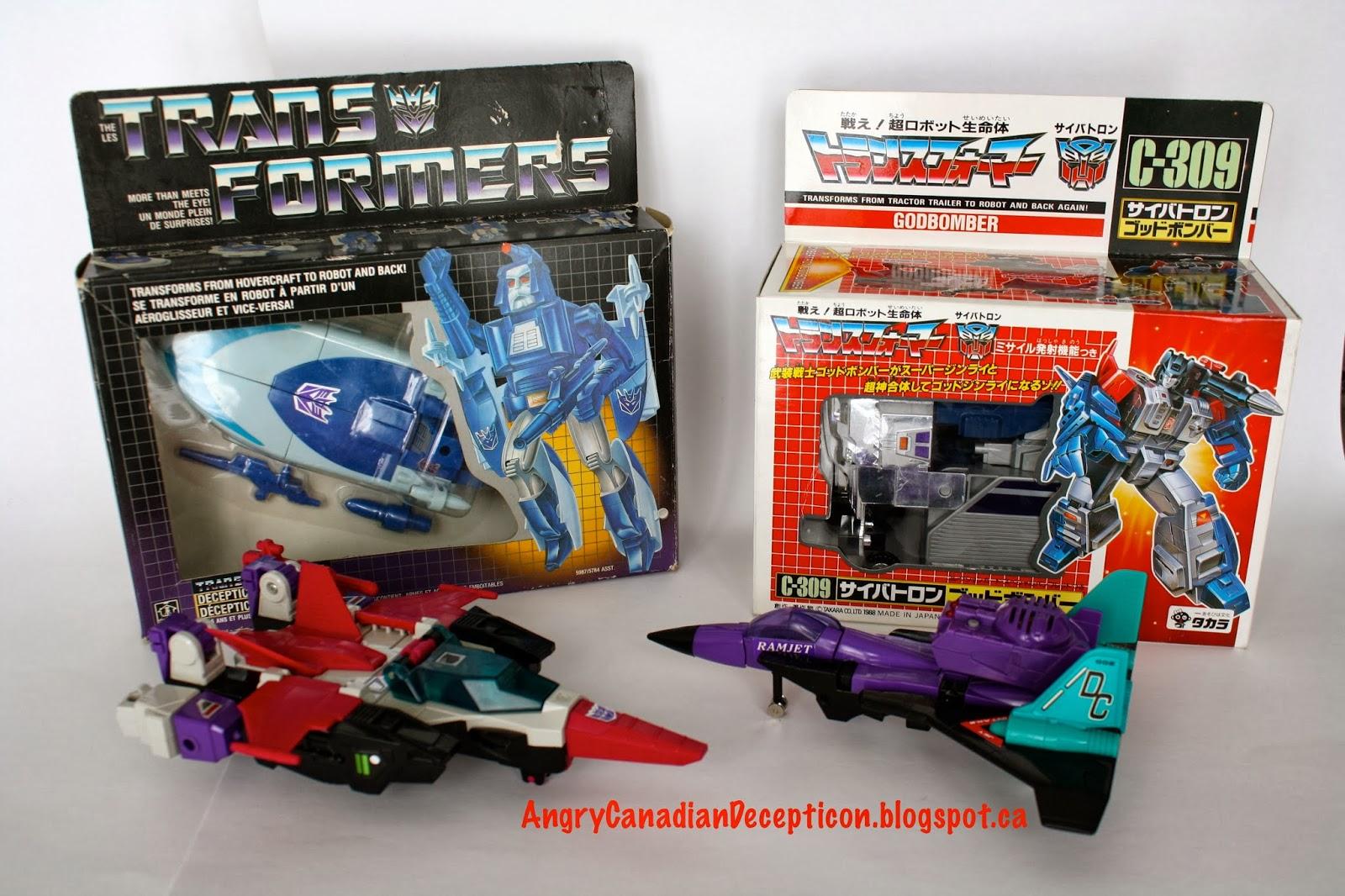 a transformers blog angry canadian decepticon 1988 takara g1
