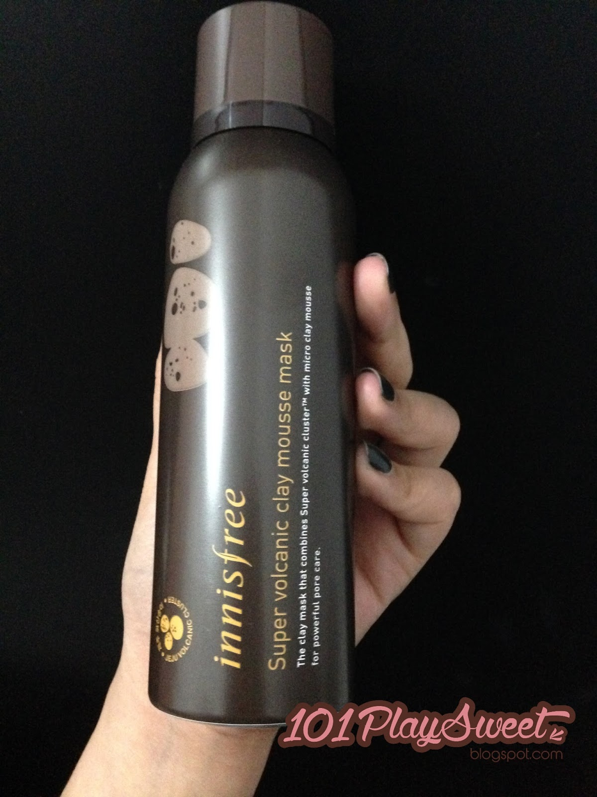 how to use innisfree volcanic clay mousse mask