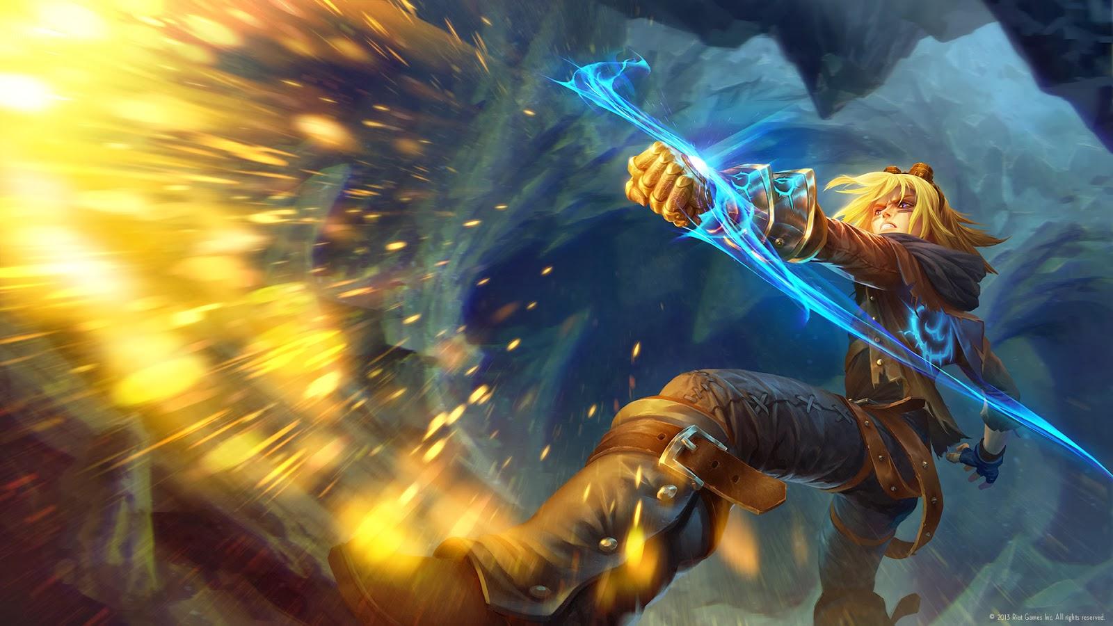 Possible New splash Art for Jarvan IV and EzrealNight Hunter Rengar Splash Art