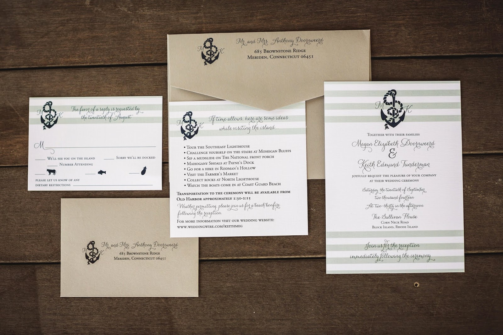 Addressing & Mailing your Wedding Invitations {AvantGarde Design ...