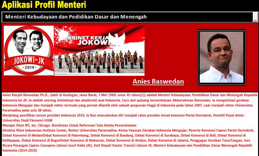 Aplikasi Profil Kementerian Jokowi Jk Untuk Pendidikan Guru Galeri