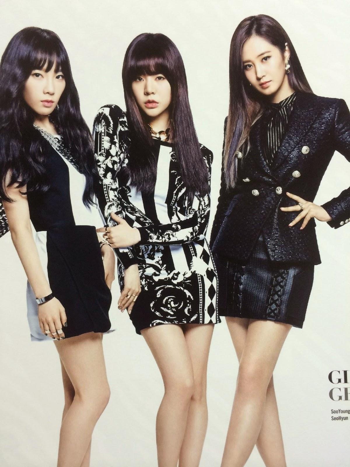 SNSD Girls Generation The Best Scan Photos 4