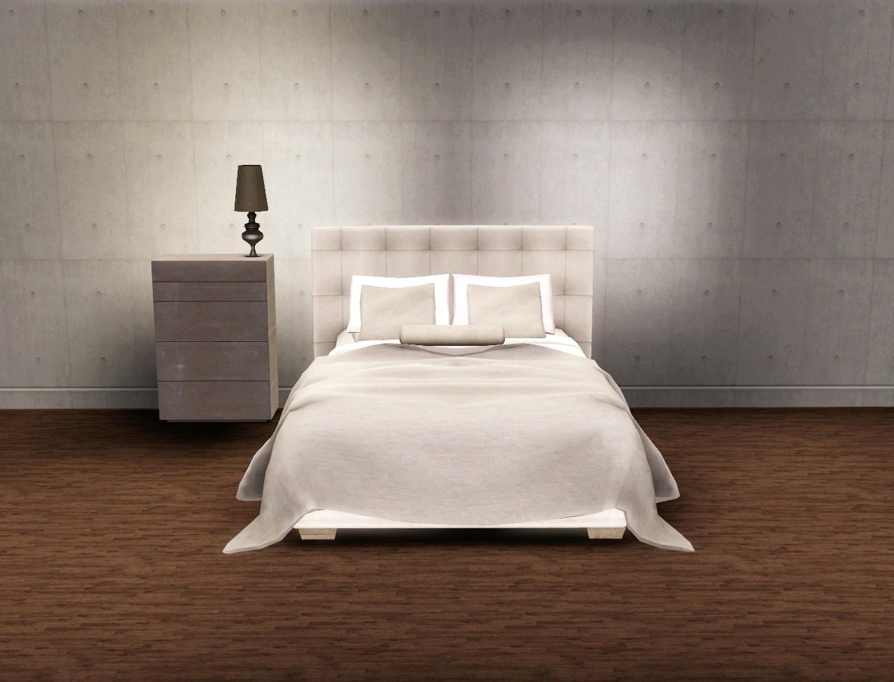 paris quadro bed set