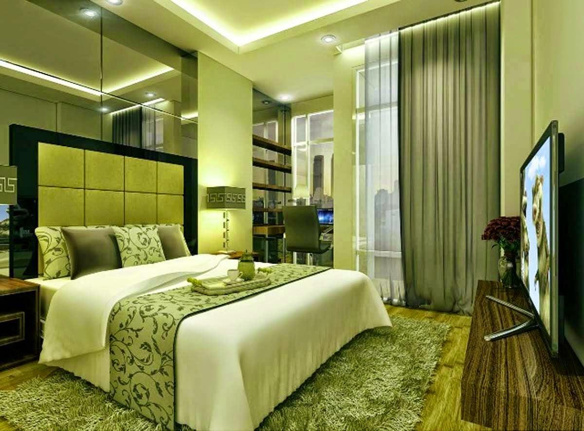 Home Design Ideas Green Bedroom