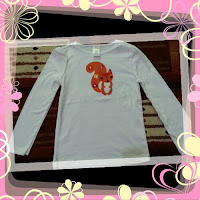 Kaos Gymboree Putih Cute Chipmunks