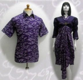 Model baju batik modern 01121