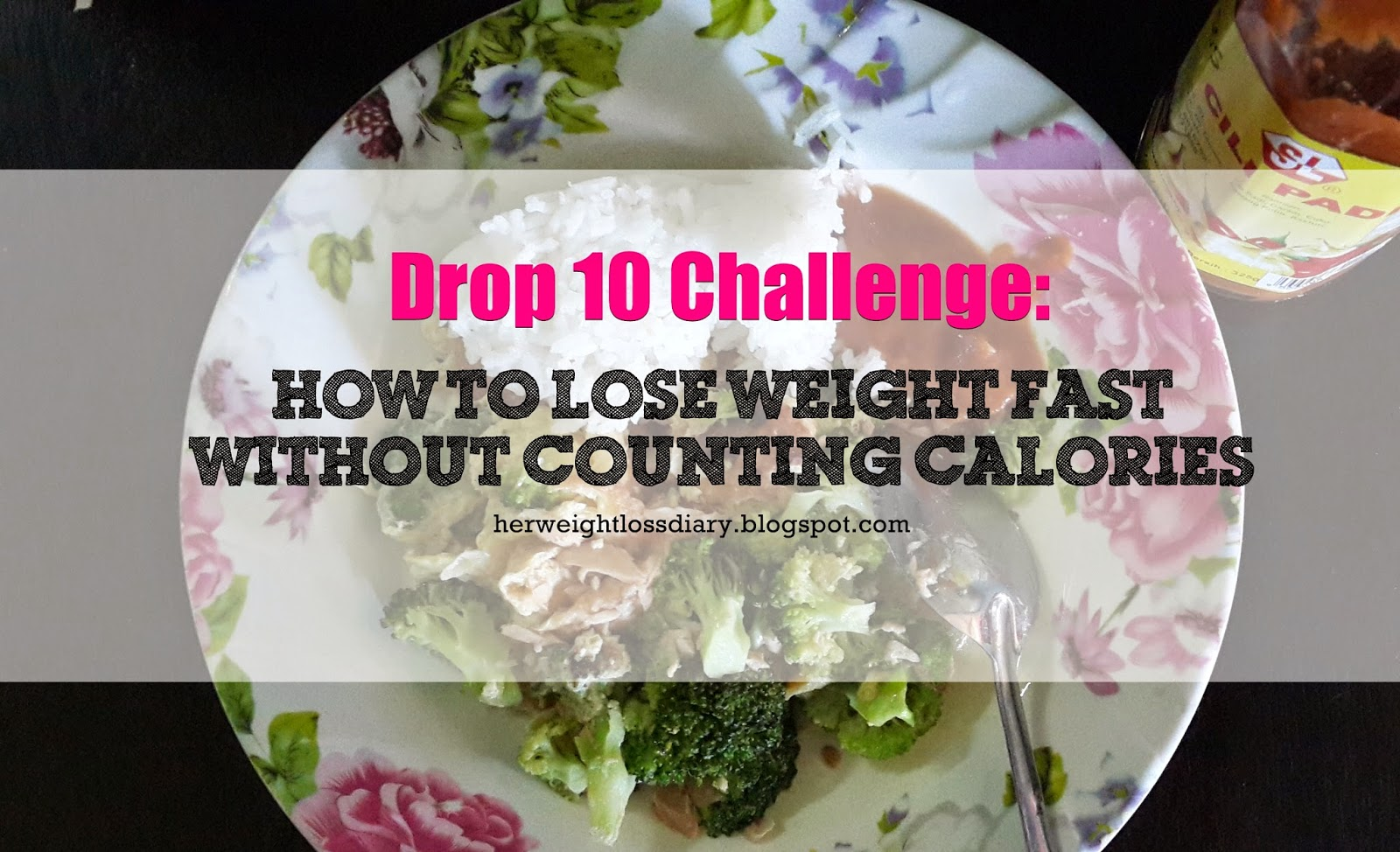 Drop 10 Weight Loss Challenge, Lose Weight Without Counting Calories
