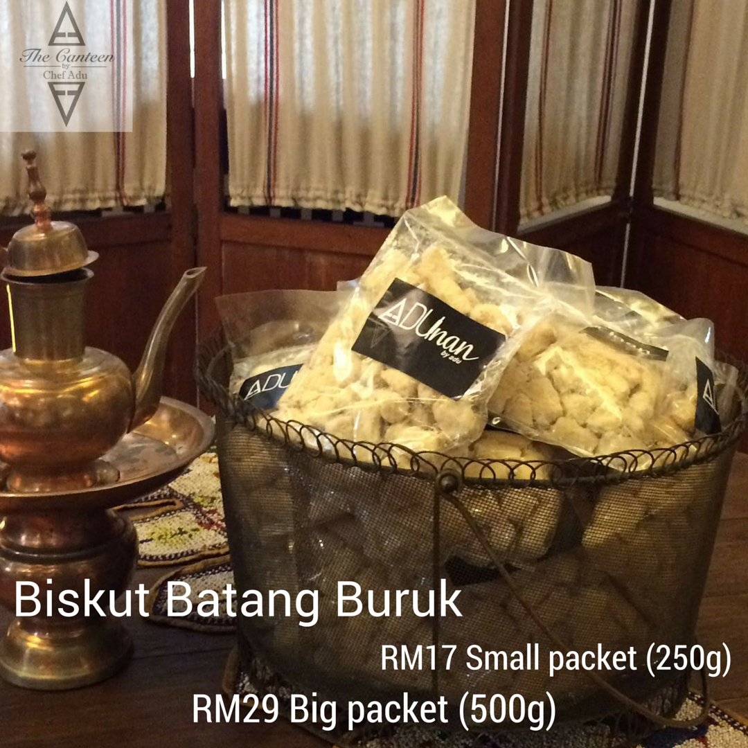 PURCHASE: Biskut Batang Buruk from ADUnan by Chef Adu