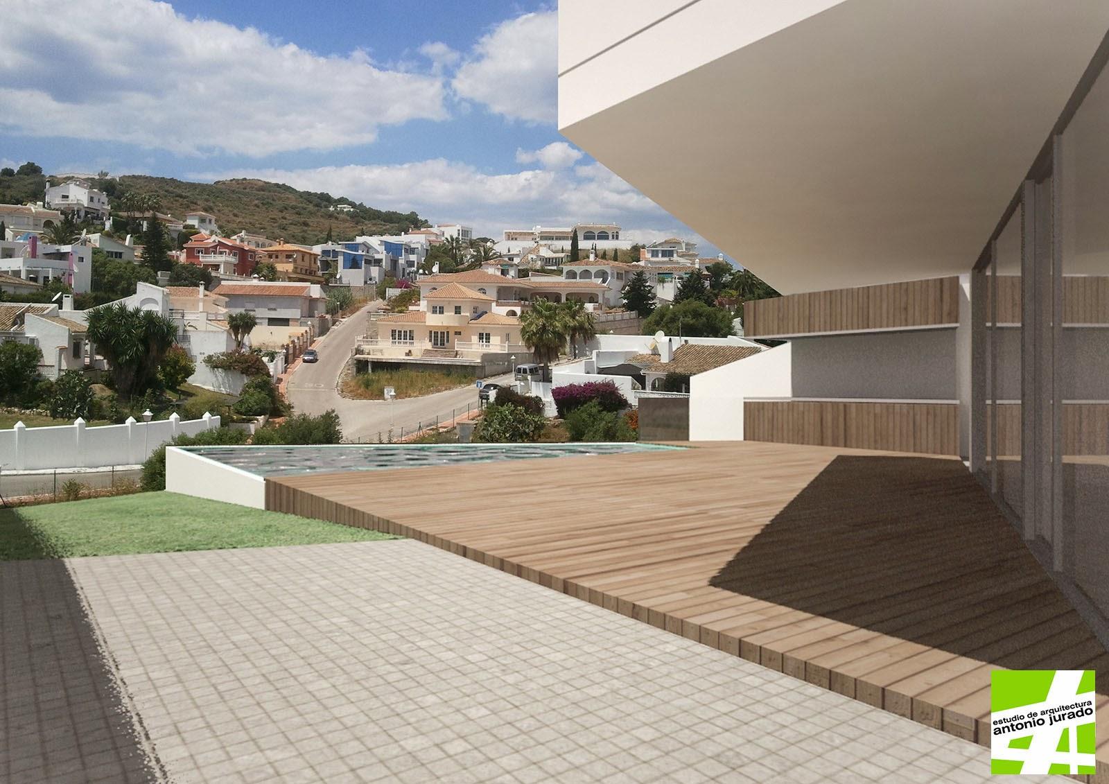 Vivienda unifamiliar en urb cerro del aguila mijas - Arquitectos malaga ...