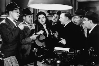 Scene from Howard Hawks' His Girl Friday