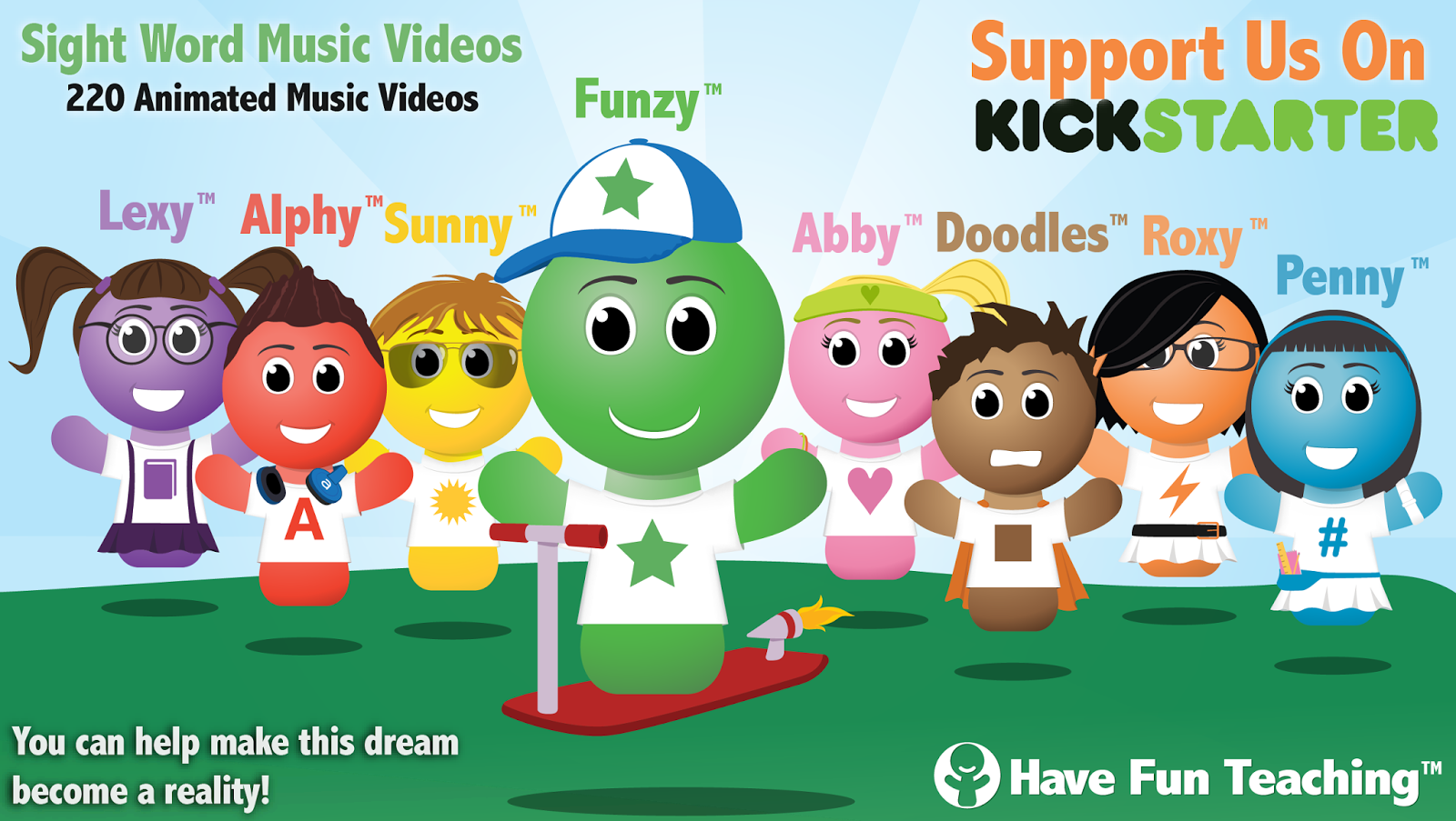 KickStarter+Marketing+Ad 220 Sight Word Videos For Your Classroom