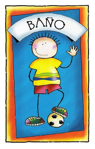 Imagenes De Baño Animadas:RECURSOS DE EDUCACION INFANTIL: CARTELES PARA EL BAÑO (I)